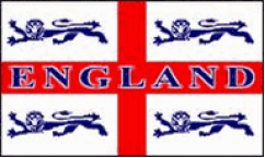 England 4 Lions Flags